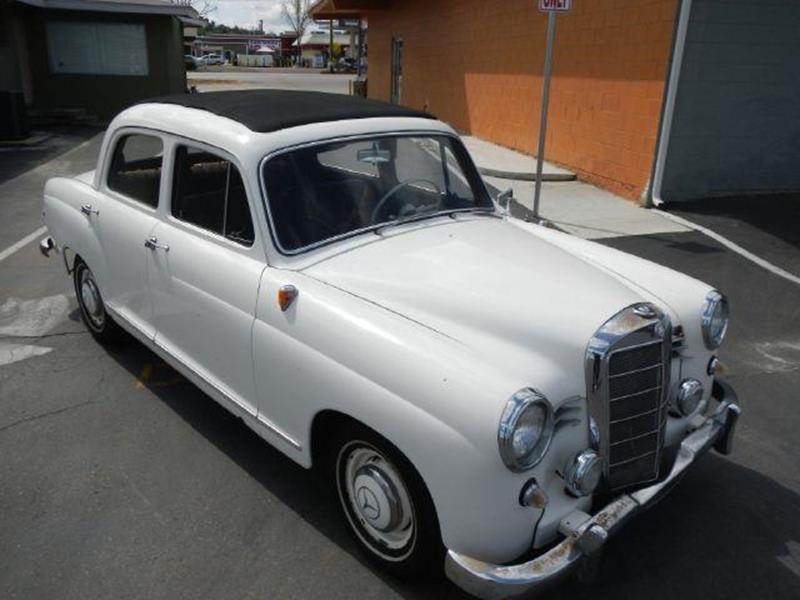 1958 mercedes benz 190 class 180 w120 in el cajon ca 1 for Mercedes benz el cajon