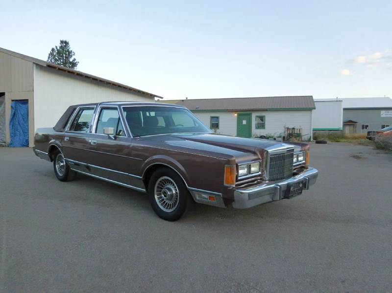 1989 Lincoln Town Car Base 4dr Sedan In El Cajon Ca 1