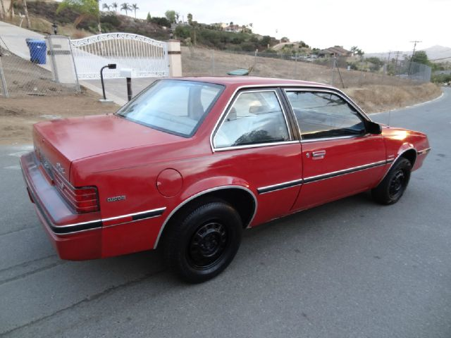 1984 Buick Skyhawk Custom Coupe In El Cajon CA 1 Owner