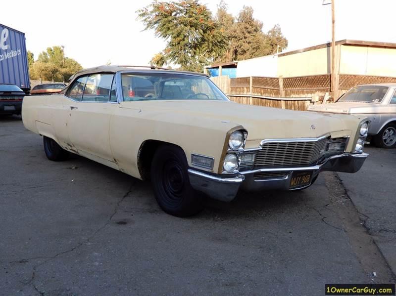 1968 Cadillac DeVille Coupe Deville Convertible - El Cajon CA