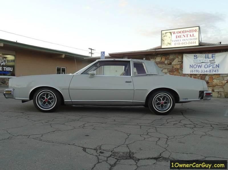 1979 Pontiac Grand Prix In El Cajon CA 1 Owner Car Guy