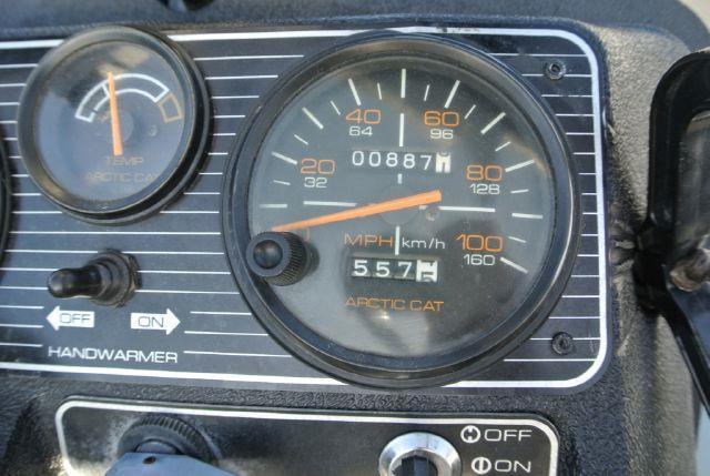 1988 Arctic Cat El Tigre Snowmobile - El Cajon CA