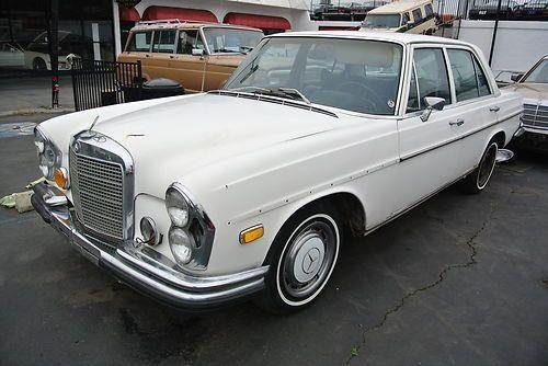 1972 mercedes benz 280 class 280se in el cajon ca 1. Black Bedroom Furniture Sets. Home Design Ideas