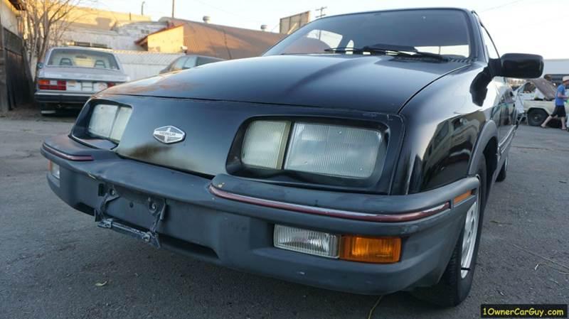 1986 Merkur XR4Ti Turbo 2dr Hatchback - El Cajon CA