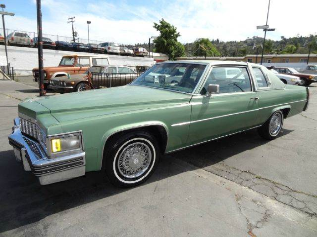 1977 cadillac deville coupe deville de ville in el cajon ca 1 owner. Cars Review. Best American Auto & Cars Review