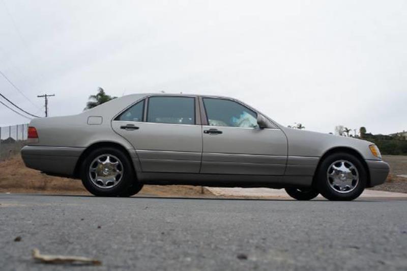 1995 mercedes benz s class s420 in el cajon ca 1 owner for 1995 mercedes benz s420