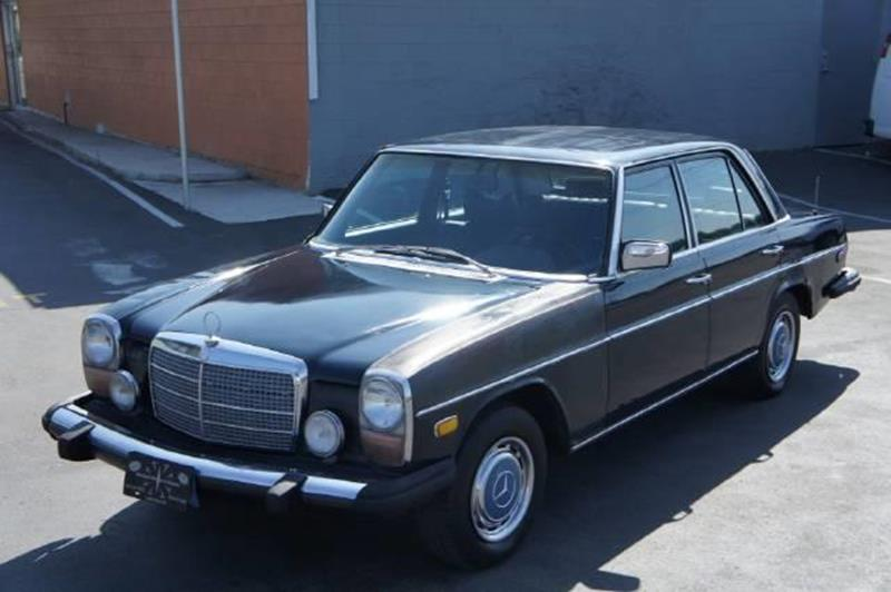 1975 mercedes benz 300 class el cajon ca san diego for Mercedes benz of el cajon el cajon ca