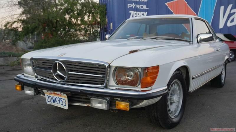 1980 mercedes benz 350 class in el cajon ca 1 owner car guy for Mercedes benz el cajon