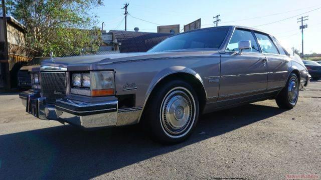 1983 Cadillac Seville In El Cajon Ca