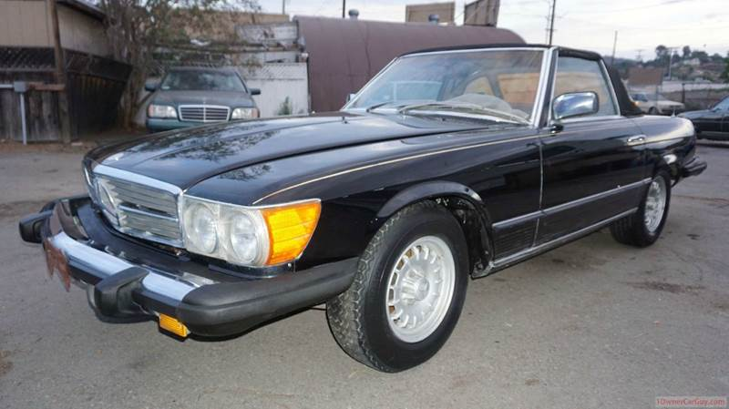 1979 mercedes benz 450 sl in el cajon ca 1 owner car guy for Mercedes benz of el cajon el cajon ca