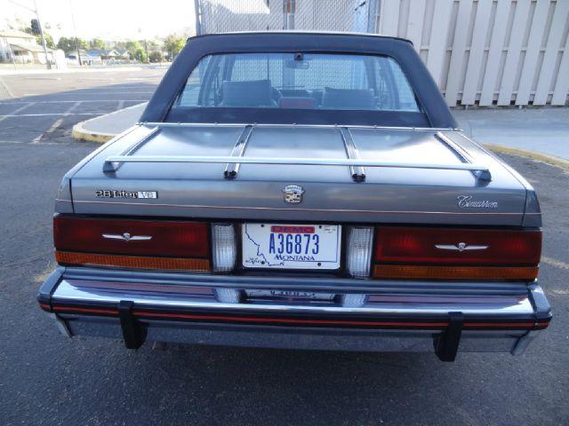 1986 Cadillac Cimarron Sedan Luxury Compact Car In El ...