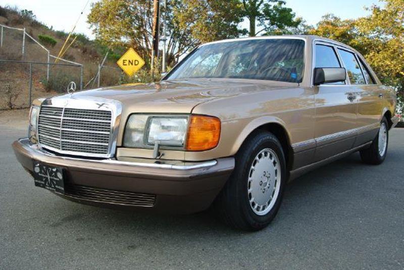 1987 mercedes benz 420 class 420sel in el cajon ca 1 for 1987 mercedes benz 420sel