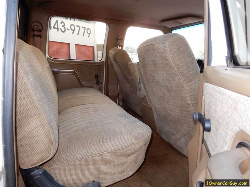 1990 Ford F-350 4dr XLT Lariat Crew Cab LB - El Cajon CA