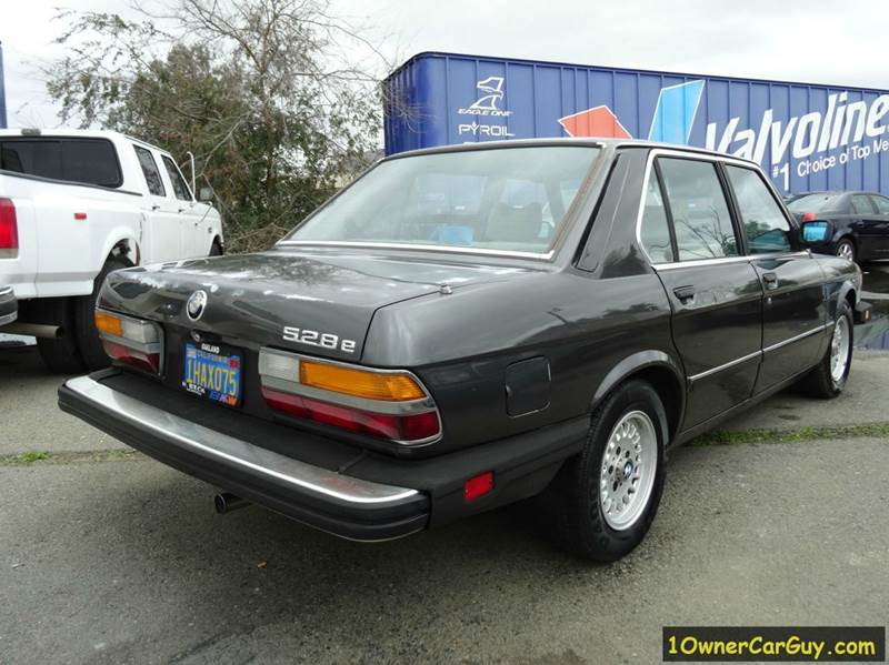 1983 BMW 5 Series 528e 4dr Sedan - El Cajon CA