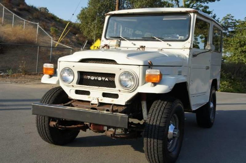 1976 toyota land cruiser fj40 in el cajon ca 1 owner car guy. Black Bedroom Furniture Sets. Home Design Ideas