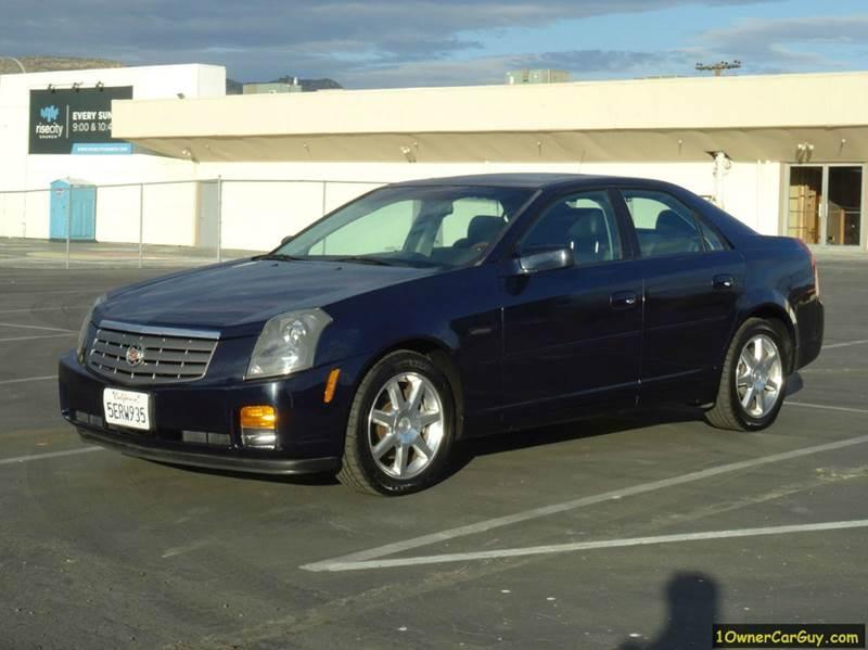 2004 cadillac cts base 4dr sedan in el cajon ca 1 owner car guy. Black Bedroom Furniture Sets. Home Design Ideas