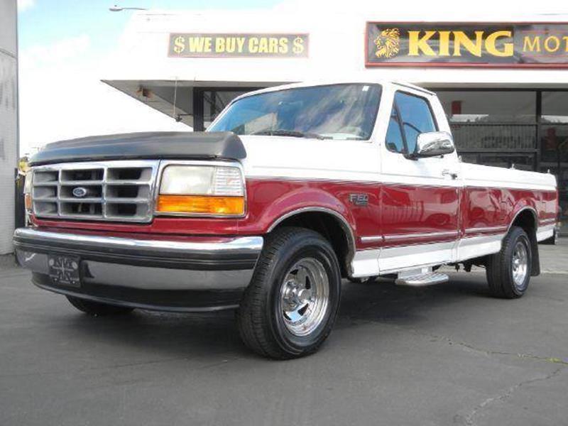 1995 ford f 150 xlt in el cajon ca 1 owner car guy. Black Bedroom Furniture Sets. Home Design Ideas