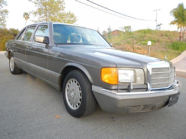 1986 mercedes benz 560 class sel in el cajon ca 1 owner for Mercedes benz el cajon