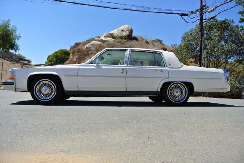 1988 Cadillac Brougham Fleetwood In El Cajon CA 1 Owner