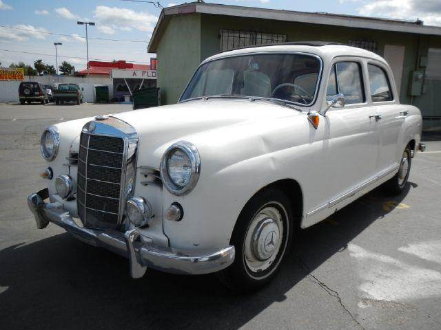 1959 mercedes benz 190 class 180 w120 wabasto top in el for Mercedes benz of el cajon el cajon ca
