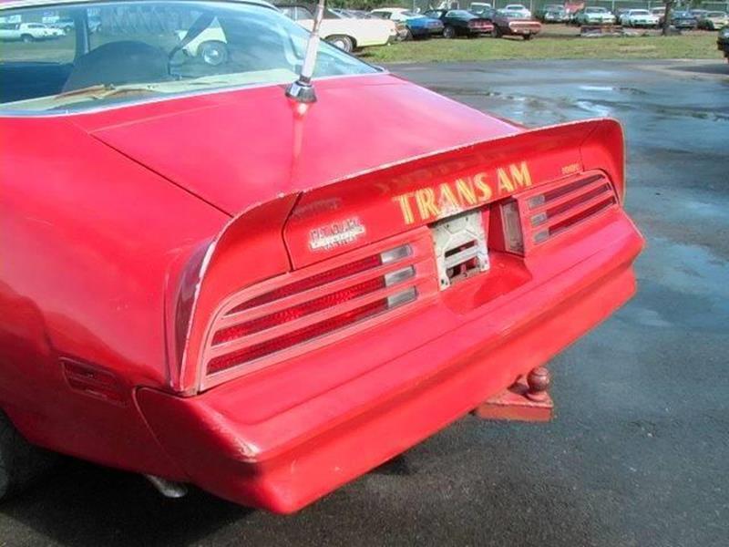 1977 Pontiac Firebird Trans Am - El Cajon CA
