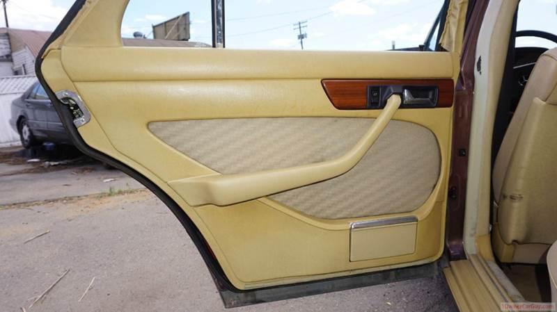 1983 Mercedes-Benz 300-Class Euro Model - El Cajon CA