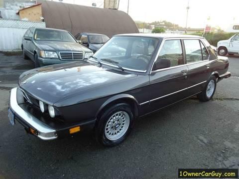 1983 BMW 5 Series