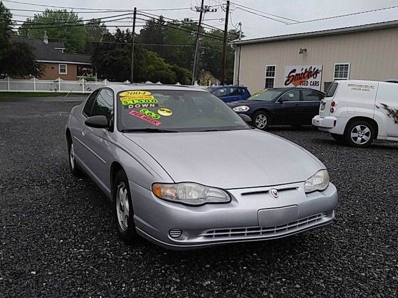 2004 chevrolet monte carlo ls 2dr coupe in selinsgrove pa smith 39 s used cars inc. Black Bedroom Furniture Sets. Home Design Ideas
