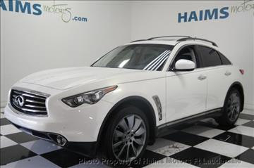 2013 Infiniti FX37 for sale in Lauderdale Lakes, FL
