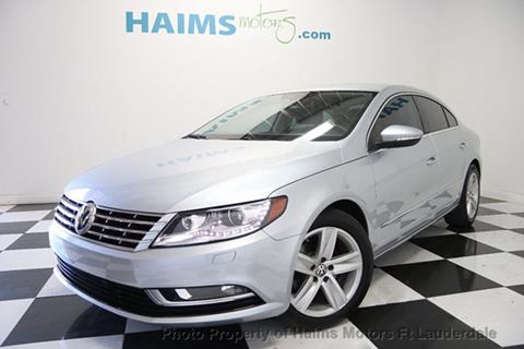 2013 Volkswagen CC for sale in Lauderdale Lakes, FL