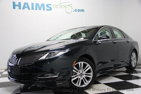 2014 Lincoln MKZ Hybrid for sale in Lauderdale Lakes, FL