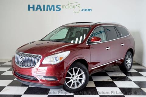 2016 Buick Enclave for sale in Lauderdale Lakes, FL