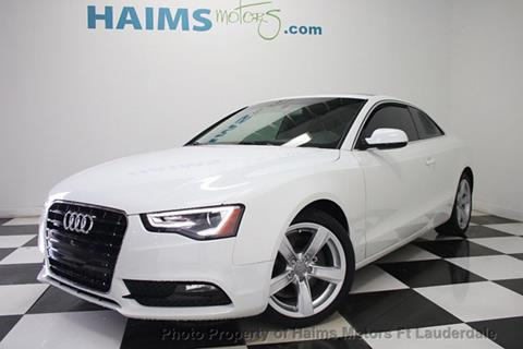 2015 Audi A5 for sale in Lauderdale Lakes, FL