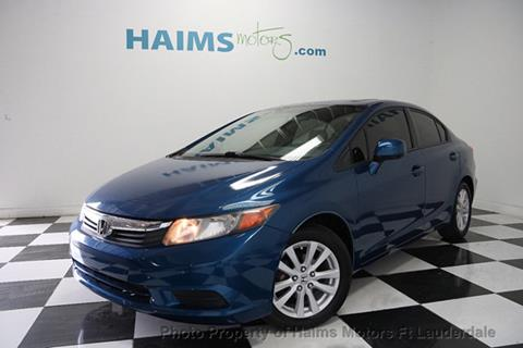 2012 Honda Civic for sale in Lauderdale Lakes, FL