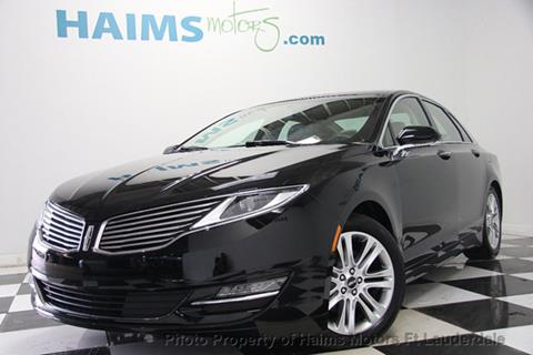 2016 Lincoln MKZ for sale in Lauderdale Lakes, FL