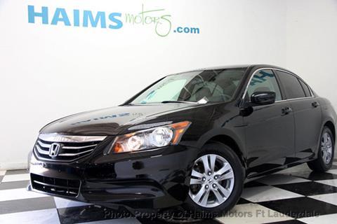 2011 Honda Accord for sale in Lauderdale Lakes, FL