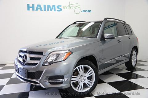 2015 Mercedes-Benz GLK for sale in Lauderdale Lakes, FL