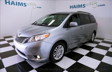 2012 Toyota Sienna for sale in Lauderdale Lakes, FL