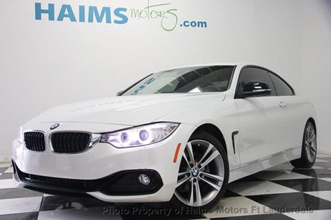 2015 BMW 4 Series for sale in Lauderdale Lakes, FL