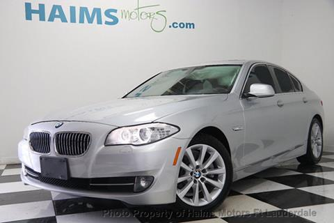 2013 BMW 5 Series for sale in Lauderdale Lakes, FL