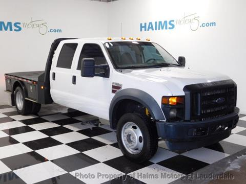 2008 Ford F-450 Super Duty for sale in Lauderdale Lakes, FL