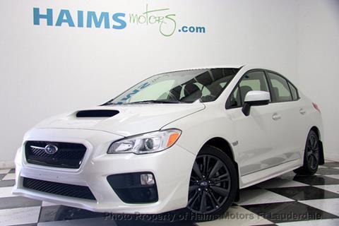 2016 Subaru WRX for sale in Lauderdale Lakes, FL