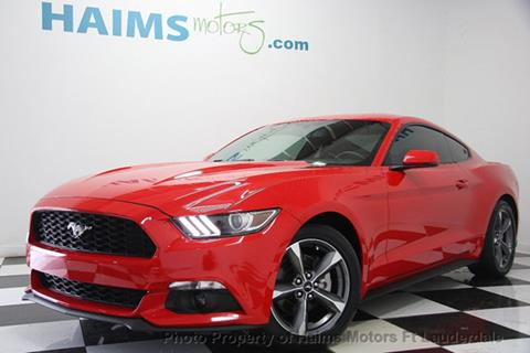 2015 Ford Mustang for sale in Lauderdale Lakes, FL