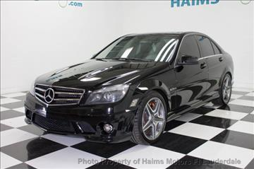 2010 Mercedes-Benz C-Class for sale in Lauderdale Lakes, FL