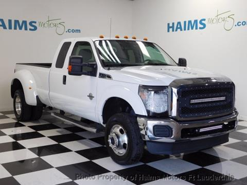 2012 Ford F-350 Super Duty for sale in Lauderdale Lakes, FL