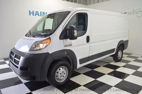 2017 RAM ProMaster Cargo for sale in Lauderdale Lakes, FL