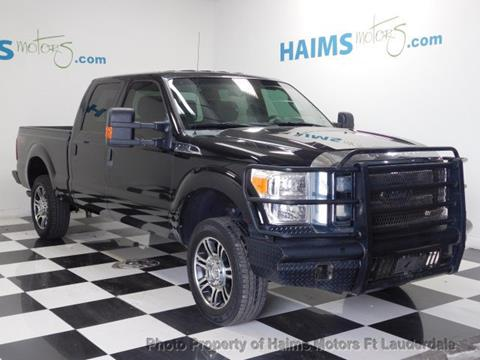 2012 Ford F-250 Super Duty for sale in Lauderdale Lakes, FL