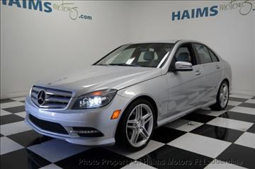 2011 Mercedes-Benz C-Class for sale in Lauderdale Lakes, FL