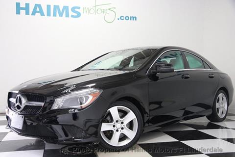 2015 Mercedes-Benz CLA for sale in Lauderdale Lakes, FL