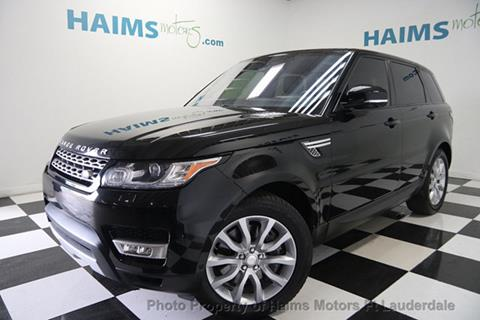 2015 Land Rover Range Rover Sport for sale in Lauderdale Lakes, FL